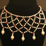 Elizabethan Netted Pearls Necklace